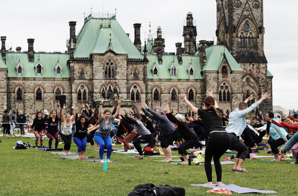 Yogis in Parliament Hill Yoga