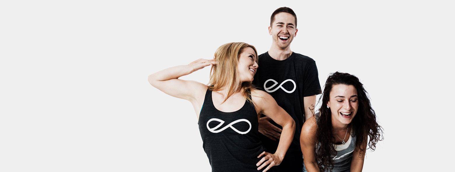 Happy yogis