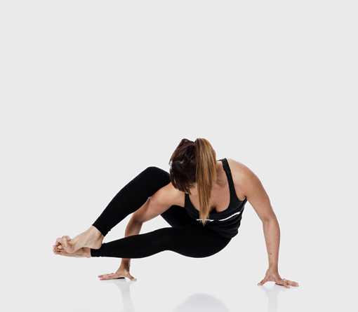 Lizl Fleury in eight-angle pose